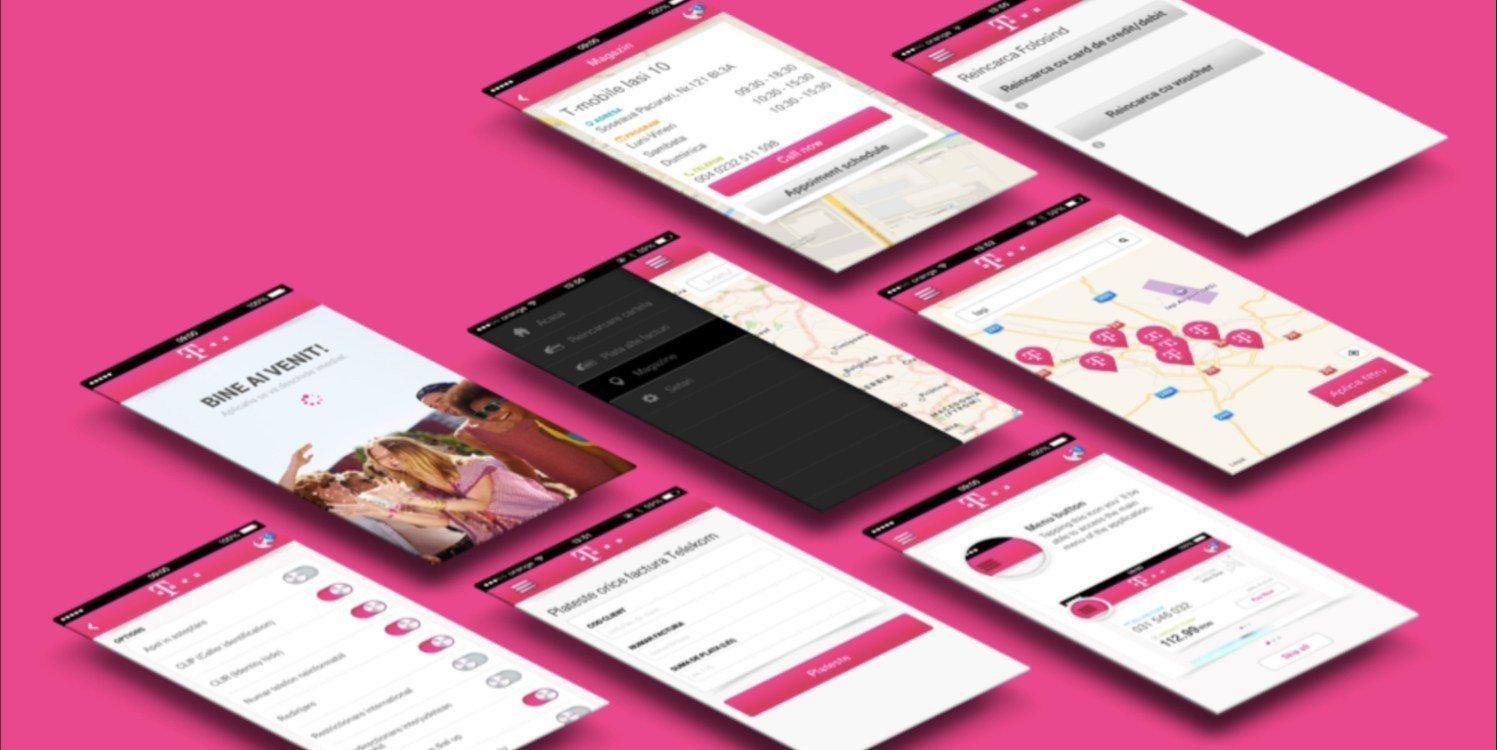 Telekom website