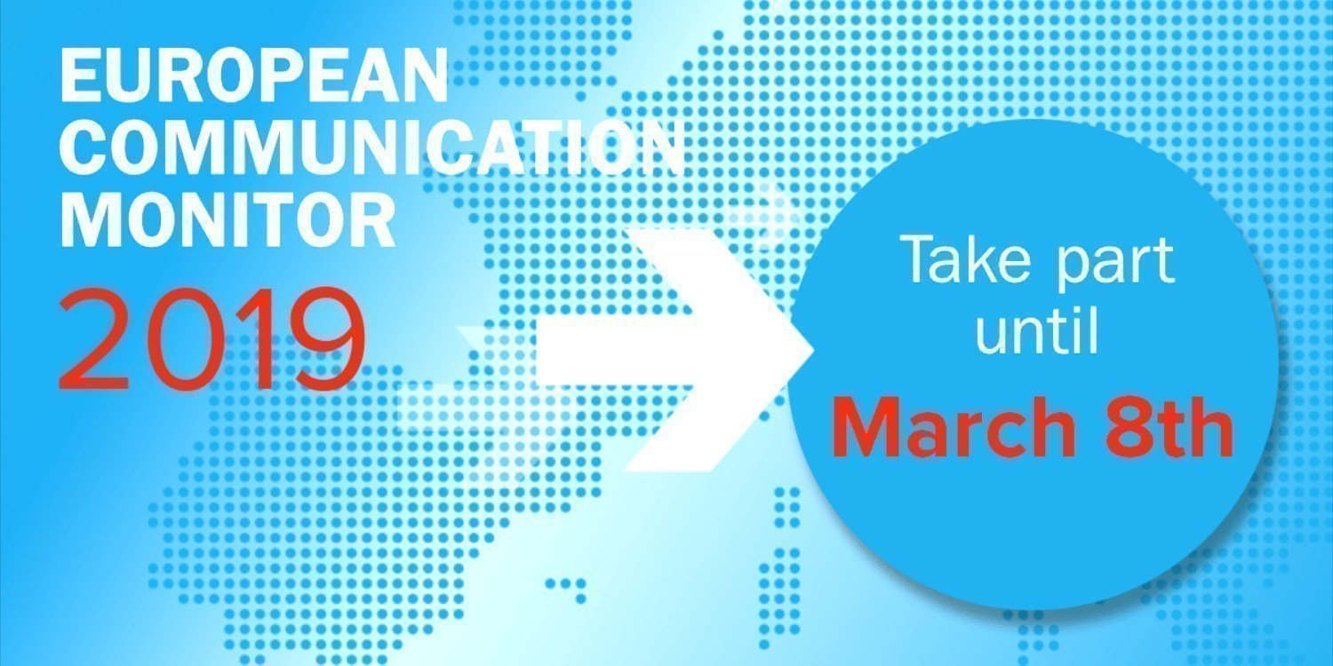 Last Call for Participants — European Communication Monitor 2019